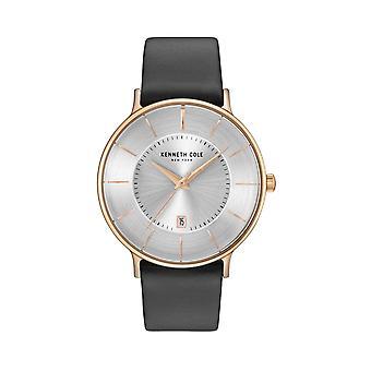 Montre montre-bracelet en cuir Kenneth Cole New York masculine KC15097002