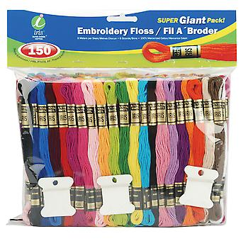 Embroidery Floss Super Giant Pack 8.7Yd 150/Pkg