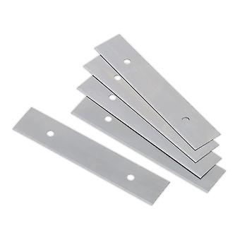 Sealey Ak8651.V2/B Razor Scraper Blades For Ak8651.V2 Pack Of 5
