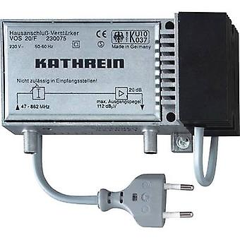 Kathrein VOS 20/F Cable TV amplifier 20 dB
