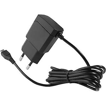 HN Power HNP11-MicroUSBV2-BL HNP11-MicroUSBV2-BL USB charger Mains socket Max. output current 2100 mA 1 x Micro USB Raspberry Pi 2 compatibility