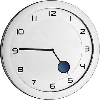 TFA 60.3028.54 Quartz Wall clock 28 cm x 1.5 cm Metallic silver