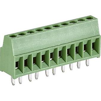 TE Connectivity 282834-8 Screw terminal 1.4 mm² Number of pins 8 Green 1 pc(s)