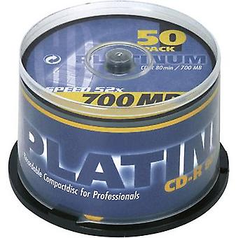 Blank CD-R 80 700 MB Platinum 100128 50 pc(s) Spindle