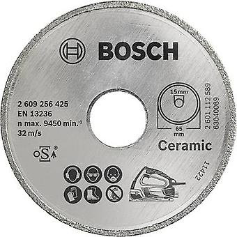 Diamond cut-off wheel Bosch Accessories 2609256425 Diameter 65 mm Inside diameter 15 mm 1 pc(s)