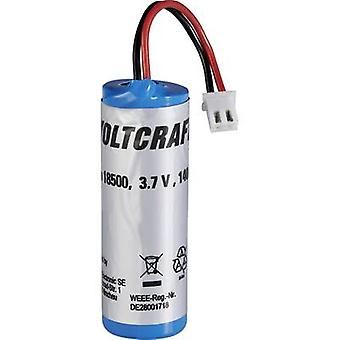 VOLTCRAFT 18500 Li-Ion replacement battery type 18500, Compatible with (details) IR1000-50CAM Thermometer, IR-1600 CAM 1