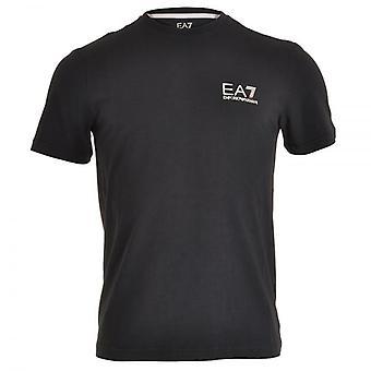 EA7 Emporio Armani Train Core ID Logo Crew Neck T-Shirt, Night Blue, X-Large