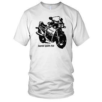 Suzuki GSXR 750 moto classica Mens T-Shirt
