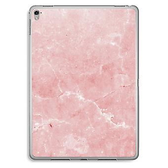 iPad Pro 9,7 inch Transparent Case (Soft) - Pink Marble