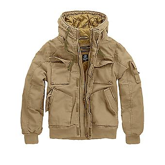 Brandit mens winter jacket Bronx camel
