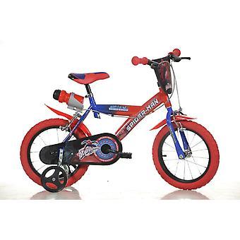 Diâmetro de polegada bicicleta bebê Spiderman 16