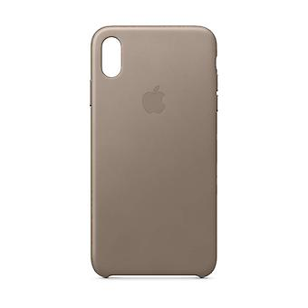 Apple iPhone XS Max læderetui - Taupe