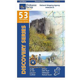 Clare Galway Offaly Tipperary by Ordnance Survey Ireland