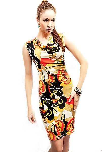 Waooh - Mode - Robe à imprimés fleuris
