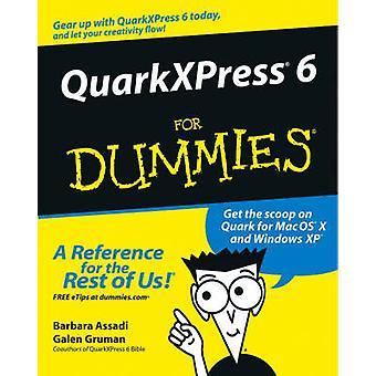 QuarkXPress 6 pour les nuls par Barbara Assadi - Galen Gruman - 97807645