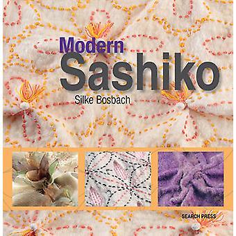 Moderno Sashiko - hermosos bordados combinando a lo moderno con el Tr