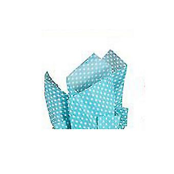Eurowrap 6 Sheets Polka Dots Tissue Papers (Pack Of 12)