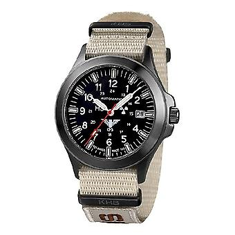 KHS watches mens watch black platoon titanium automatic KHS. BPTA. NXTLT5