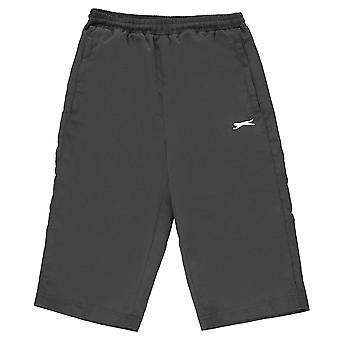 Slazenger Boys Three Quarter Track Pants Junior Bottoms Trousers Shorts Kids