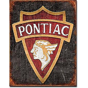 Pontiac1930 Logo Metal Sign (de)