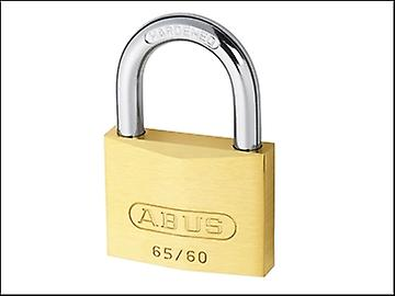 ABUS 65/60 60mm Brass Padlock Keyed 601