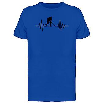 Hockey Heartbeat Tee Men's -Image by Shutterstock