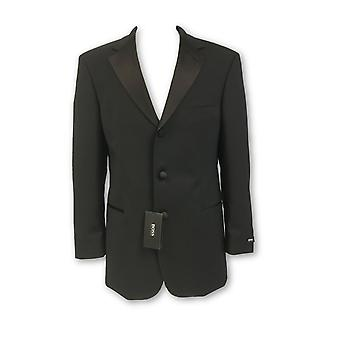 HUGO BOSS fully structured 2 piece dinner suit in black