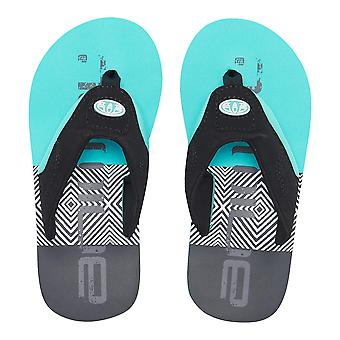 Animal Boys Jekyl Logo Flip Flops | Pacific Blue