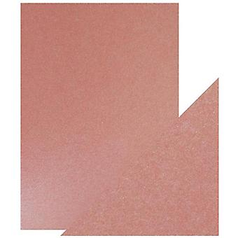 Craft Perfect Tonic Studios A4 Pearlescent Card Diffused Violet Pack de 5