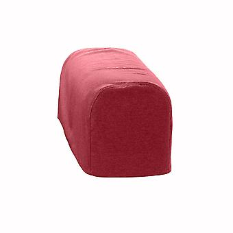 Changing Sofas® Large Size Wine Wool Feel Pair of Arm Caps for Sofa Armchair
