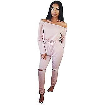 Womens chic overlay casual off shoulder deep lace