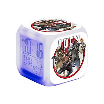 Digital Alarm Clock-Apex legends, Red Emblem