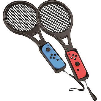 Tennis racket joy-con attachment twin pack (nintendo switch)