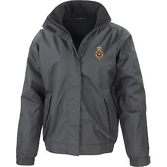 Royal Fusiliers-licenciado British Army jaqueta impermeável bordado com velo interior