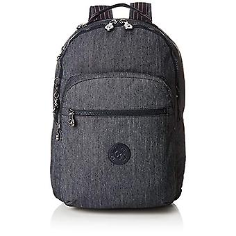 Kipling CLAS SEOUL Backpack - 45 cm - 25 liters - Blue (Active Denim)