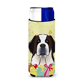 Saint Bernard Easter Egg Hunt Michelob Ultra Koozies for slim cans BB1928MUK
