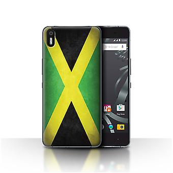 STUFF4 Case/Cover for BQ Aquaris X5/Jamaica/Jamaican/Flags