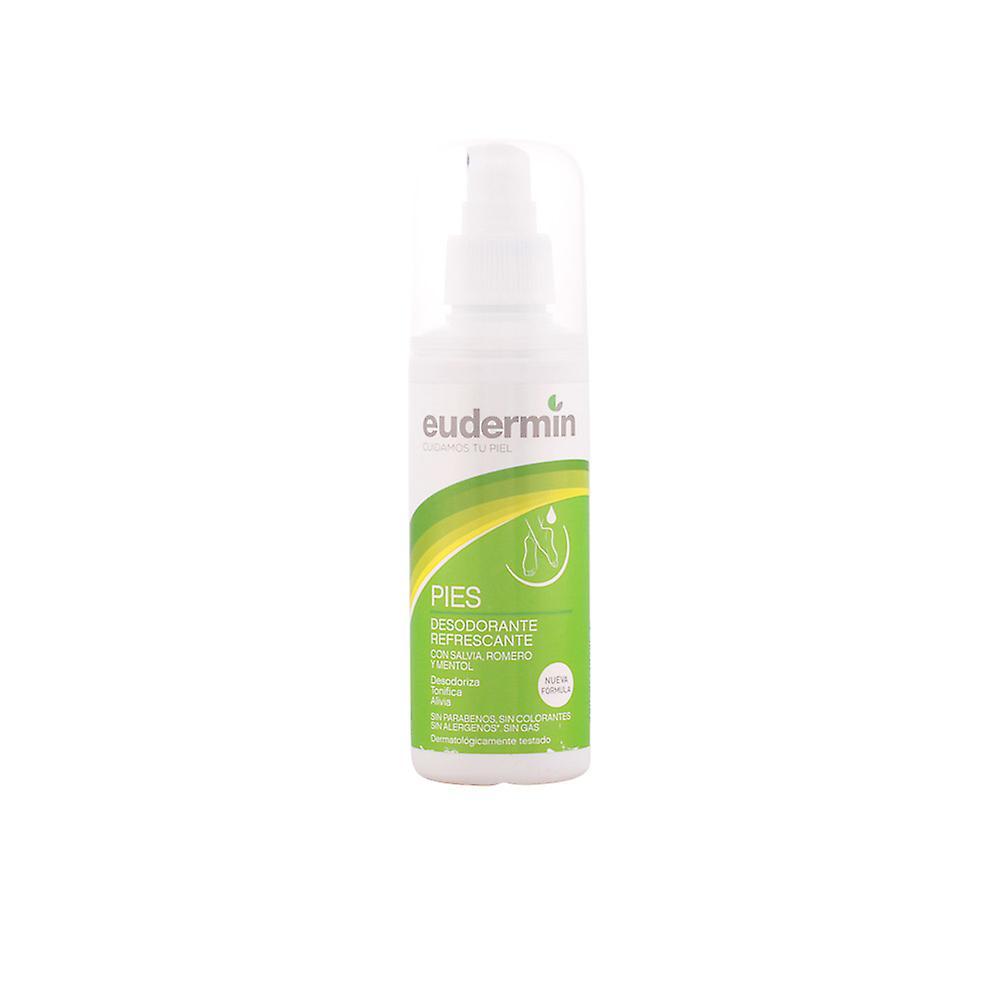 Ml 125 Refrescante Deodorant Pies Eudermin Spray Unisex lF1KTJc