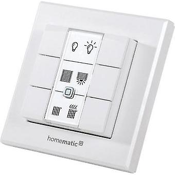 Homematic IP Wireless wall-mounted switch Max. range (open field) 200 m