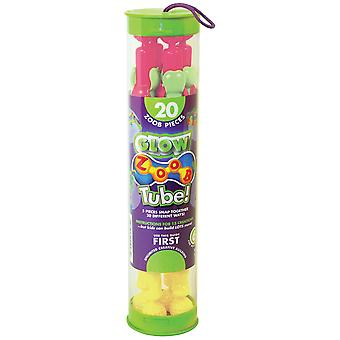 ZOOB Tube! 20/Pkg-Glow In The Dark 11023