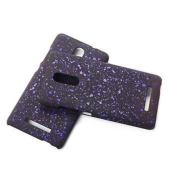 Cell phone cover case bumper shell for Xiaomi Redmi note 3 3D star purple