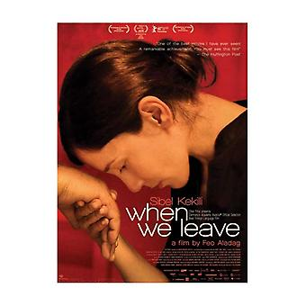 When We Leave Movie Poster (11 x 17)