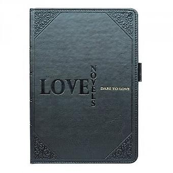 Ozaki Wisdom Love Novel folding case cover grey - iPad mini