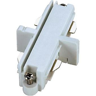 High voltage mounting rail Connector SLV 1-phase 143091 White