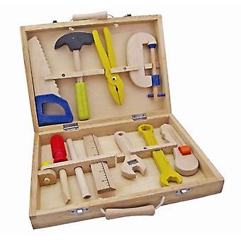 Gereedschapskist New Classic Toys 10-delig 29x21 cm