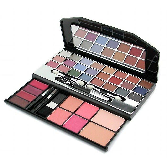 Cameleon MakeUp Kit G1672 (24xE/shdw, 1xE/Pencil, 4xL/Gloss, 4xBlush, 2xPressed Pwd..) - 2