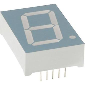 Seven-segment display Green 25.4 mm 4.4 V No. of digits: 1