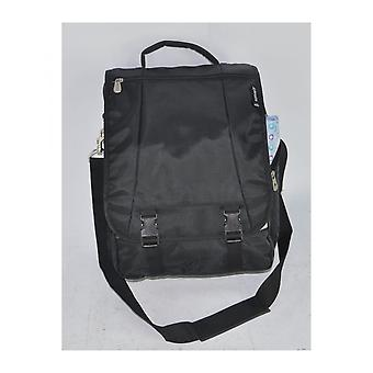 17-tommers aerolite Laptop Man Bag Flight hytte vennlig tilfelle Holder Black
