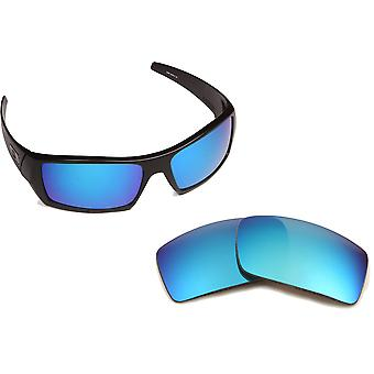 New SEEK Polarized Replacement Lenses for Oakley GASCAN Black Red Silver Blue