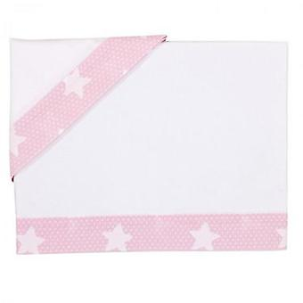 Bolin Bolon Game Mini Crib sheets Rosa